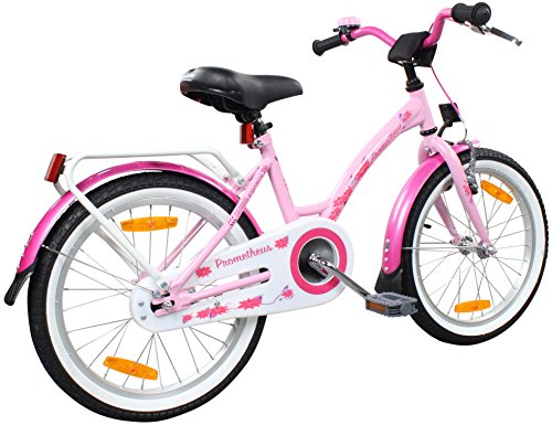 prometheus kinderfahrrad 18 zoll m dchen in rosa lila. Black Bedroom Furniture Sets. Home Design Ideas
