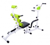 3in1 Multifunktions Liegerad Recumbent Bike Gemra Fitness Heimtrainer