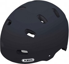 Abus Fahrradhelm Scraper Kid V.2, Velvet Black, 51-55 cm, 37274-2
